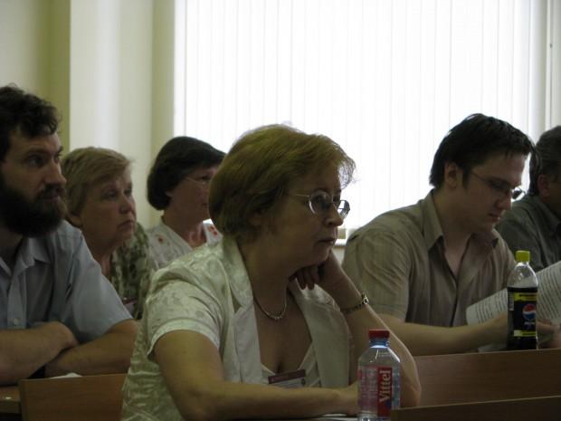 Участники конференции  На конференцию в МАБИУ приехали преподаватели вузов из Твери, Иваново, Нижнего Новговода, Магнитогорска и, конечно же, Москвы.
